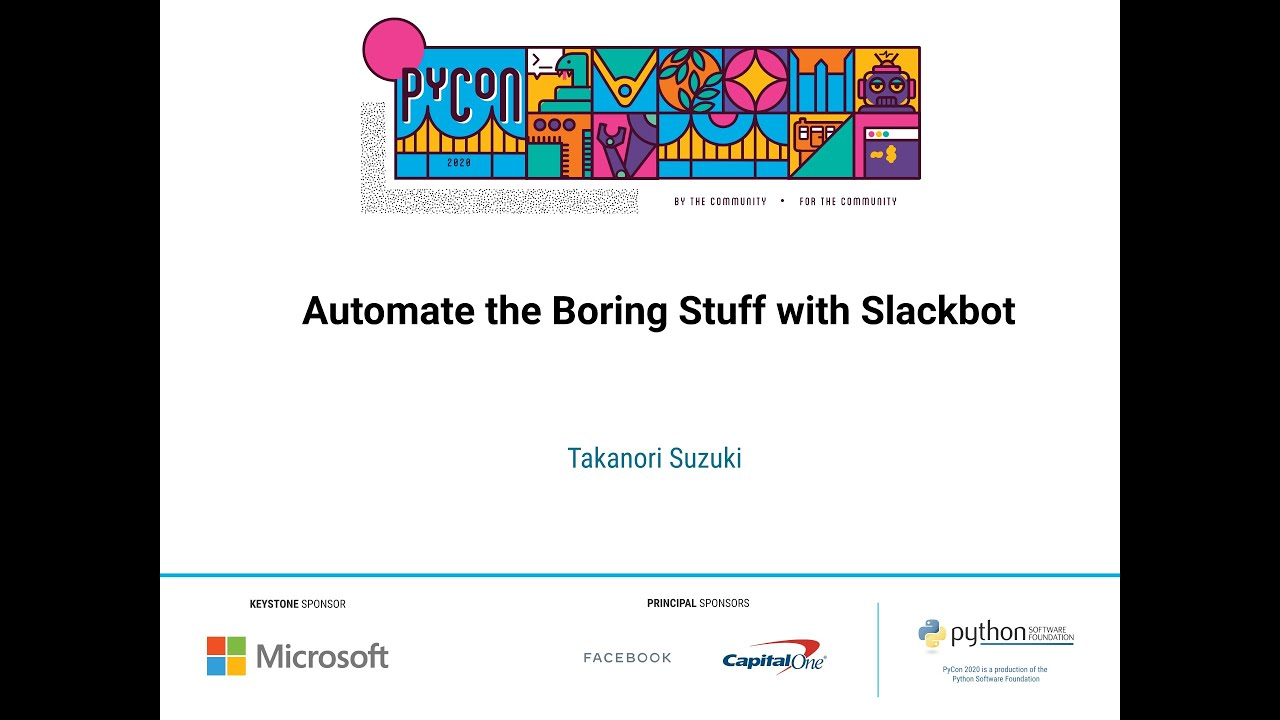 Image from Automate the Boring Stuff with Slackbot