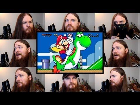 Super Mario World  Overworld Theme Acapella