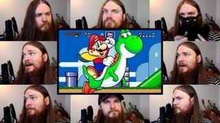 Repeat youtube video Super Mario World - Overworld Theme Acapella