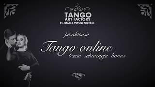 Jakub Grzybek & Patrycja Cisowska- Tango ONline Lesson 12