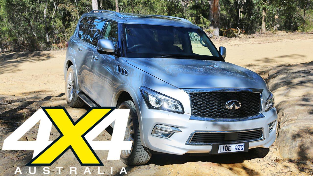 2015 infiniti qx80 road test 4x4 australia youtube vanachro Choice Image
