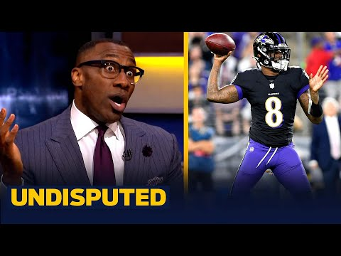 Lamar Jackson was sensational in Ravens overtime win over Colts — Shannon | NFL | UNDISPUTED
