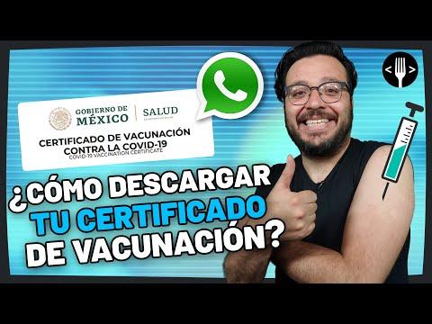 Tramita tu Certificado de Vacunación (COVID-19) por WhatsApp | Servicio a la Comunidad