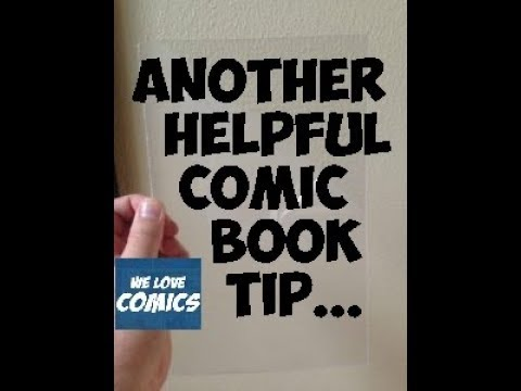 Protect your comics even better with this tip.