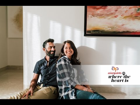 Asian Paints Where The Heart Is Featuring Dinesh Karthik and Dipika Pallikal