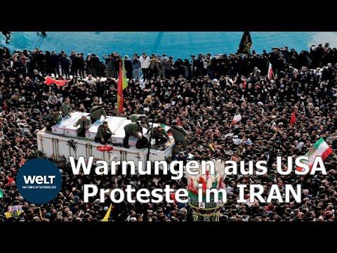 WELT THEMA: IRAN schwört Rache & USA schickt Warnungen