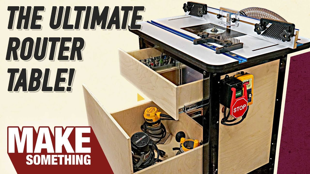How to make the ultimate router table with all the accessories how to make the ultimate router table with all the accessories keyboard keysfo Images