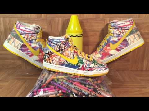 ShoeZeum Mark Parker's Assistant Called To Tell Me Nike Scribble Back To School Dunks Were Launching