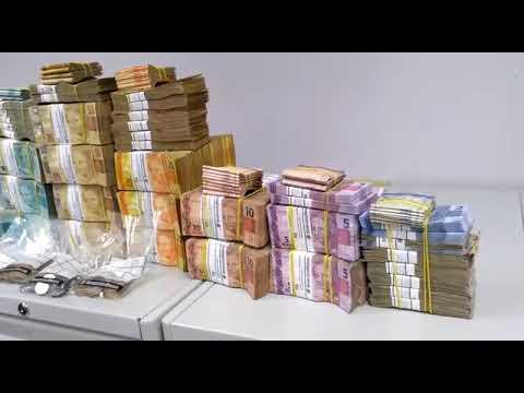 Volume impressionante de dinheiro apreendido em operação no RN