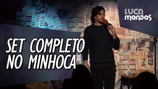SET COMPLETO NO CLUBE DO MINHOCA - LUCA MENDES