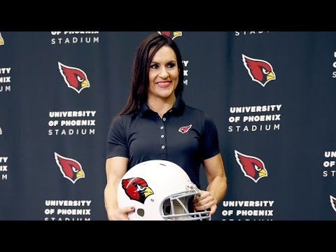 NFL's first female coach Jen Welter: 'I didn't even dream this was possible'