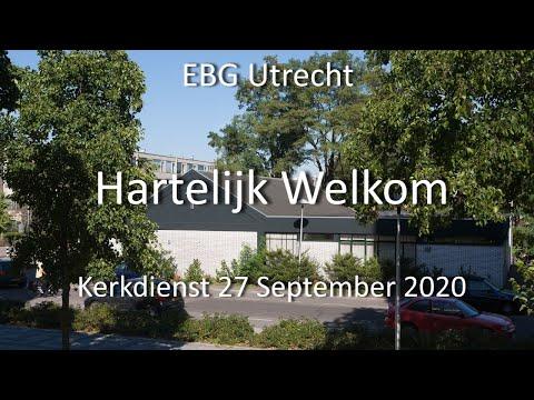 EBG- Utrecht Dienst 27 september 2020
