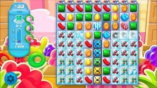 Candy Crush Soda Saga Level 729 - No boosters