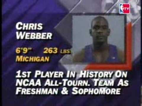 NBA Draft 1993 - Chris Webber (Pick NO.1)