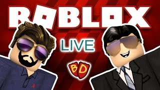🔴 Ben and Dad Live! | Roblox | Jailbreak and Vehicle Simulator!