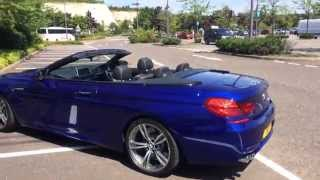 My car tour and sound test - BMW M6 convertible