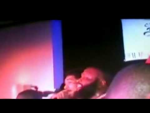 Rick Ross Gets Nervous - Shots Fired at NY Club! www.KEEPITTRILL.com