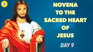 NOVENA TO THE SACRED HEART OF JESUS - (DAY 9) - YouTube