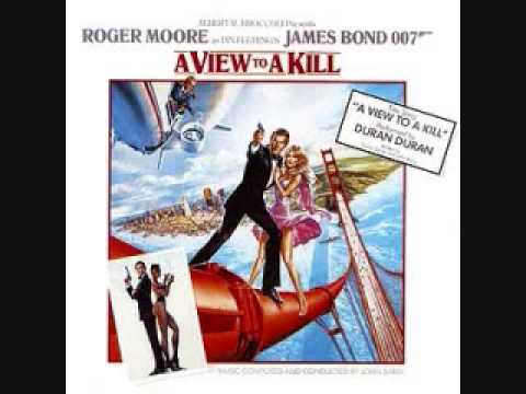 A View To A Kill Movie Score John Barry
