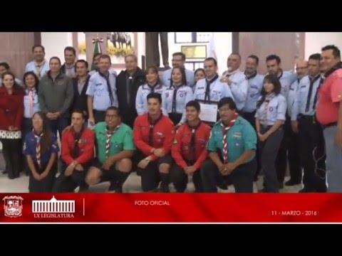 11/Marzo/16 Reconocimiento del Movimiento Scout de México