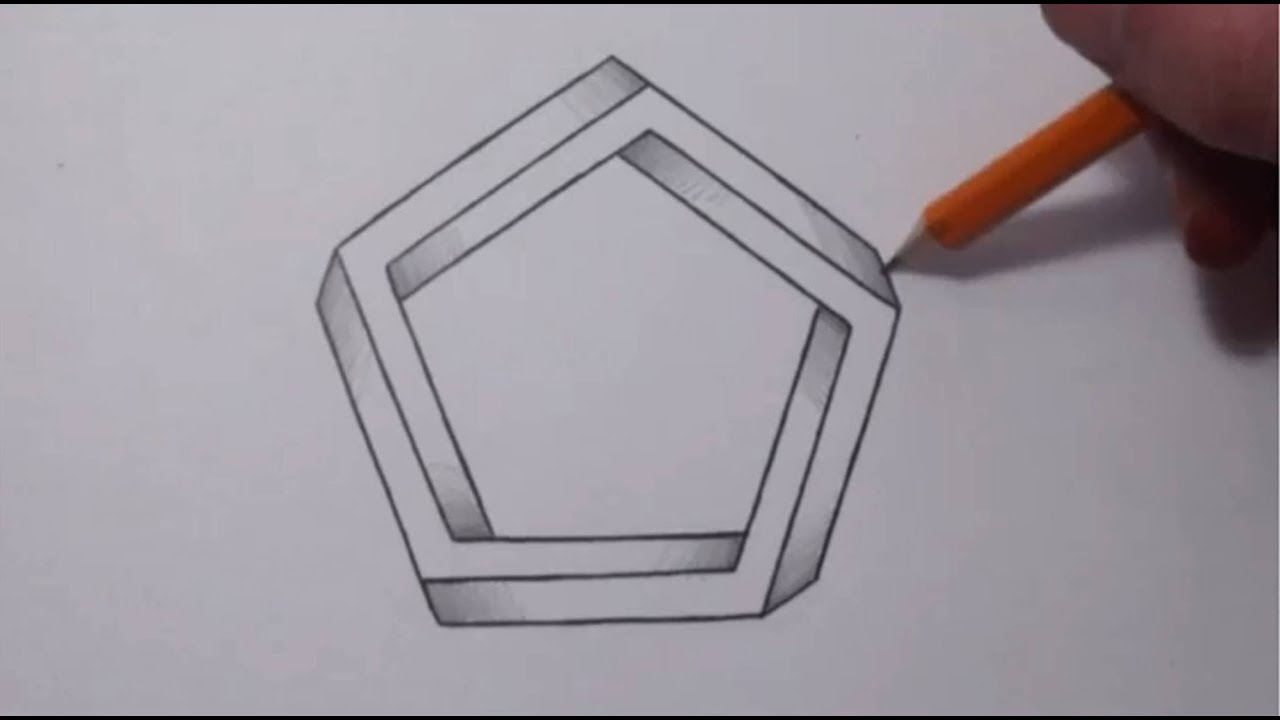 How To Draw An Impossible Pentagon