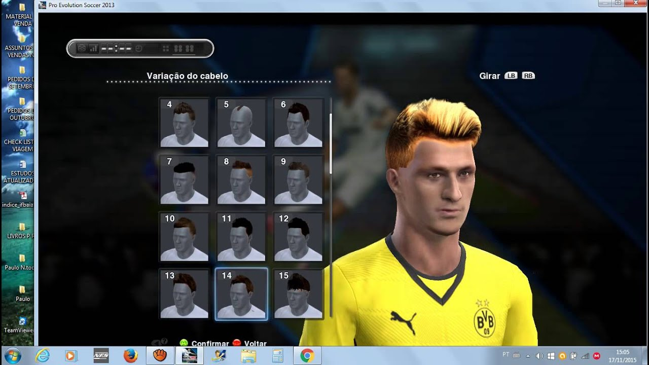 Best Hairs Pack Pes 2013 Updated 2015 16 Link Youtube