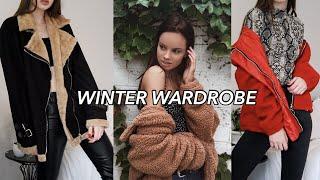 WINTER WARDROBE | Clothing haul & my favorite winter pieces ~