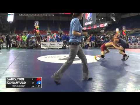 132 Cons. Round 5 - Joshua Wyland (Virginia) vs. Gavin Sutton (Illinois)