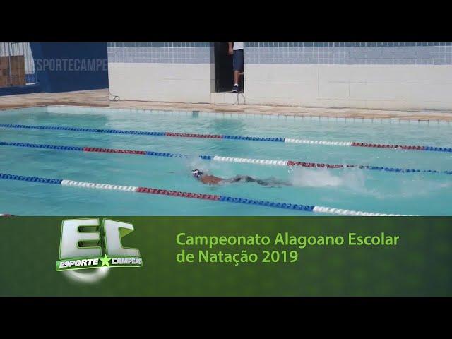 Campeonato Alagoano Escolar de Natação 2019