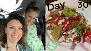 Day 30 Mostly Raw Vegan Food Challenge / PREGNANT