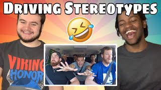 Driving Stereotypes ft. Dale Jr - Dude Perfect - REACTION