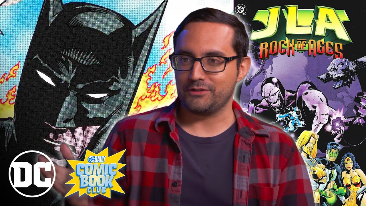 JLA: Rock of Ages   DC Daily Book Club