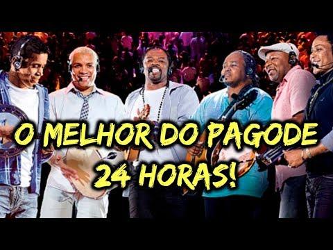 PAGODE 24 HORAS • O MELHOR DO PAGODE -  DE PAGODE AO VIVO 24 HORAS