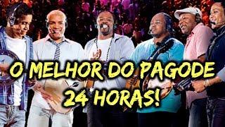 Baixar PAGODE 24 HORAS • O MELHOR DO PAGODE - LIVE DE PAGODE AO VIVO 24 HORAS