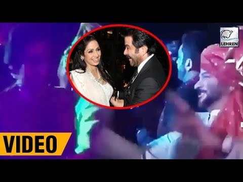 Sridevi's LAST DANCE With Anil Kapoor Will Make You Cry