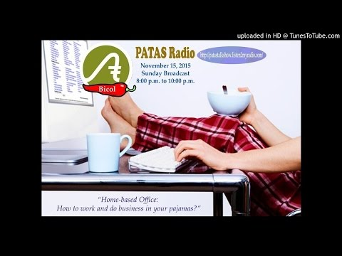 12th Broadcast - part 1 -PATAS Radio - November 15, 2015