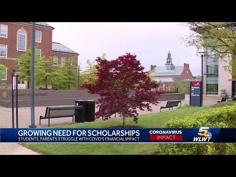 Growing need for scholarships