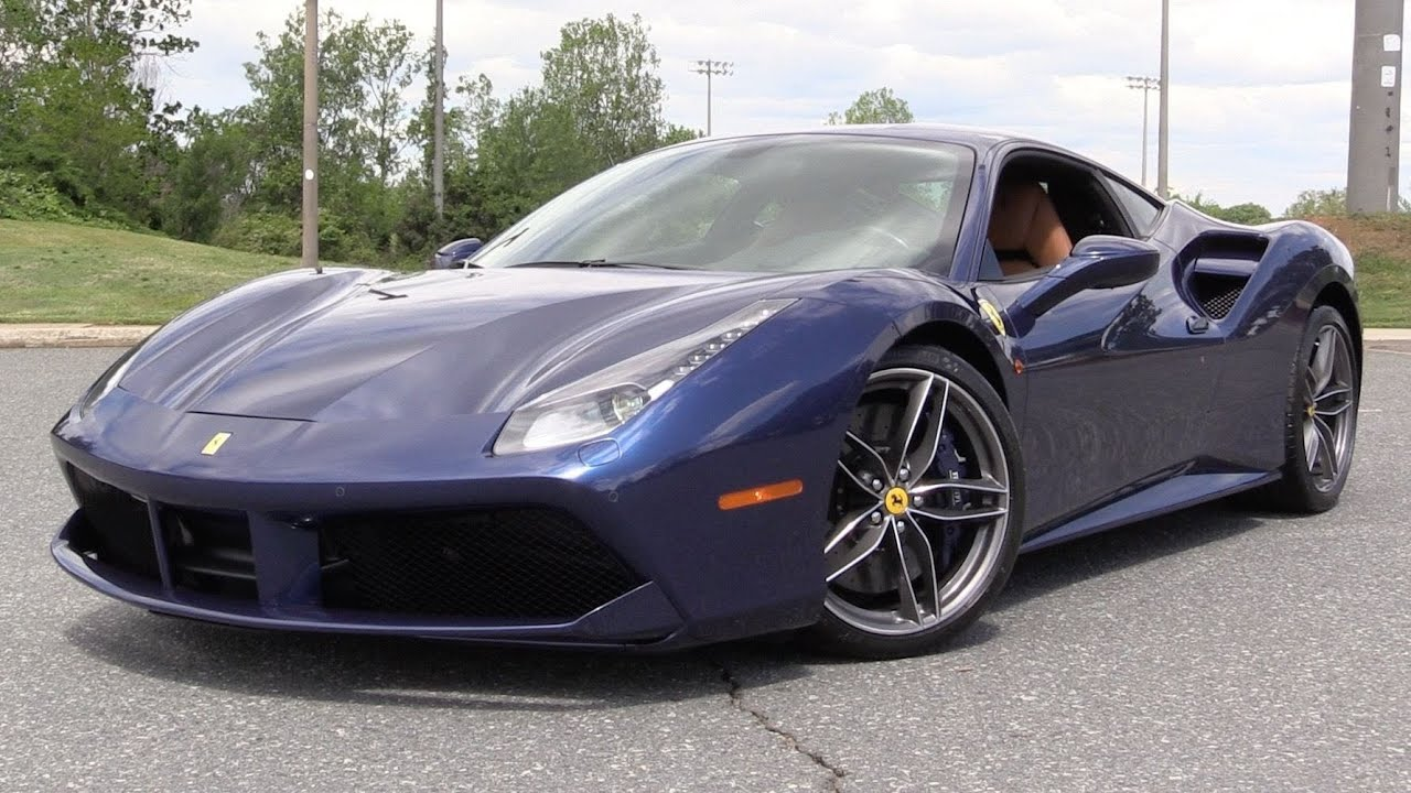 2016 Ferrari 488 Gtb Start Up Road Test Amp In Depth