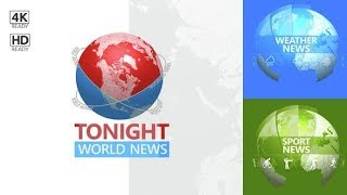 Tonight World News | After Effects Template | Broadcast Packages