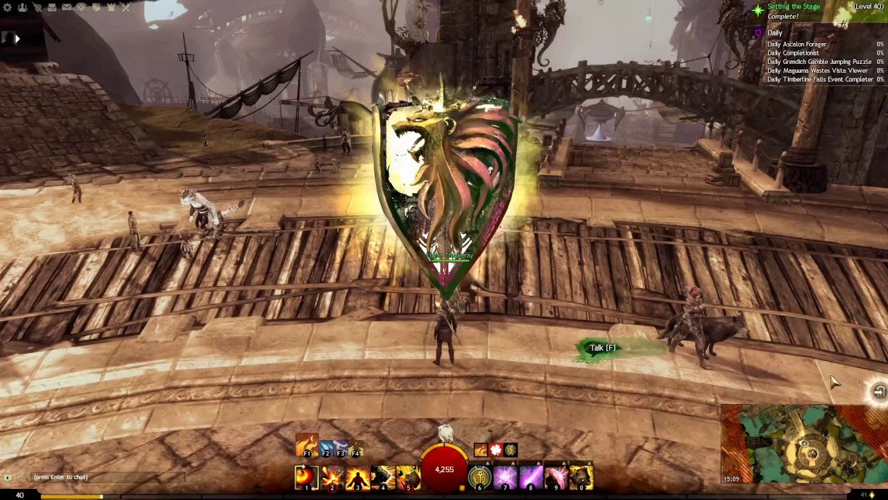 how to get to level 40 guild wars 2 2017