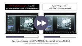 VAIO S13 TruePerformance 技術測試影片