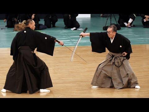 Ono-ha Itto-ryu Kenjutsu - 41st Kobudo Demonstration 2018
