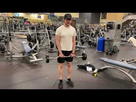 Upright Rows (EZ Bar) Exercise Tutorial & Form Tips