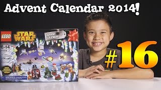2014 LEGO STAR WARS Advent Calendar DAY 16 - Set 75056 + Question of the Day!