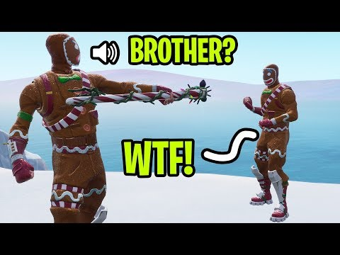I met my LONG LOST BROTHER for the first time on Fortnite! *