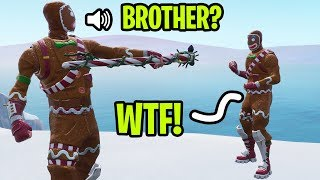 I met my LONG LOST BROTHER for the first time on Fortnite! **emotional**