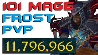 Sendarius - Level 101 Frost Mage Twink PvP - Legion Patch 7.2