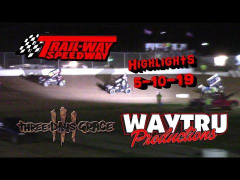 Trail-Way Speedway Highlights 5-10-19