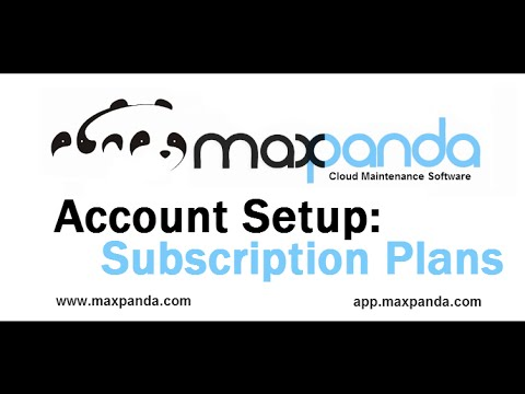 2. Account Setup: Subscription Plans