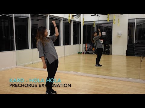 [Eclipse] KARD - Hola Hola Dance Tutorial   Prechorus + Chorus (Key Point)